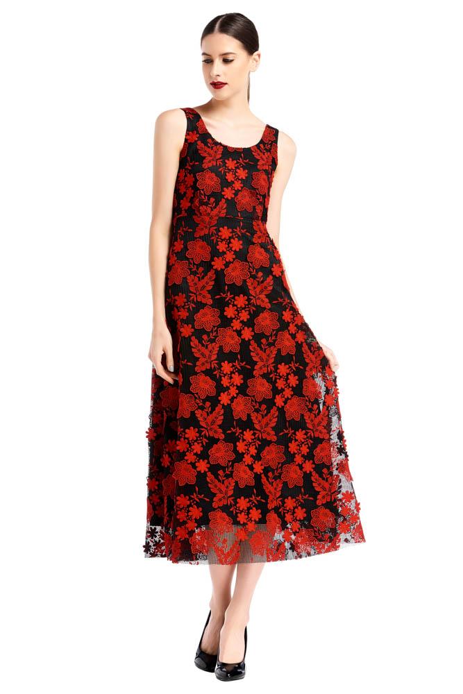 WEE Brand, dress, long dress, red dress, black dress, print dress, party dress, designer dress, outfit, fashion, ชุดแบรนด์เนม, เช่าชุด, เดรส, เดรสยาว, ชุดออกงาน, ชุดปาร์ตี้