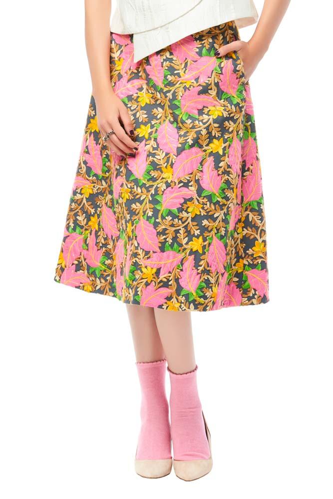 Vela De, skirt, print skirt, party skirt, designer outfit, outfit, fashion, designer clothes, ชุดแบรนด์เนม, เช่าชุด, เดรส, ชุดออกงาน, ชุดปาร์ตี้, ชุดไปเที่ยว