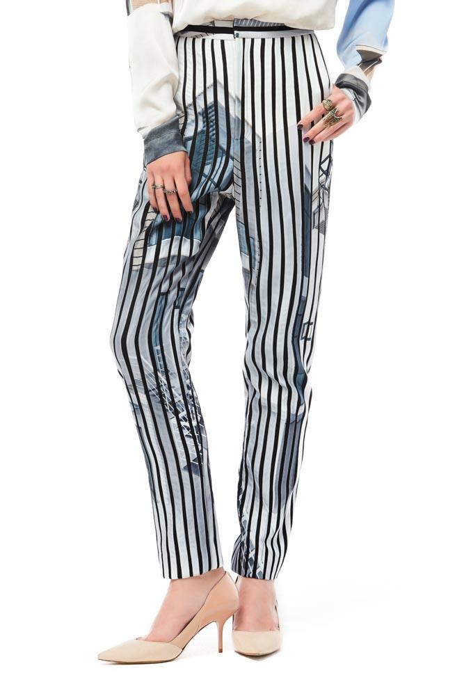 Vela De, pants, print pants, print trousers, party pants, designer pants, outfit, fashion, designer clothes, ชุดแบรนด์เนม, เช่าชุด, ชุดออกงาน, ชุดปาร์ตี้