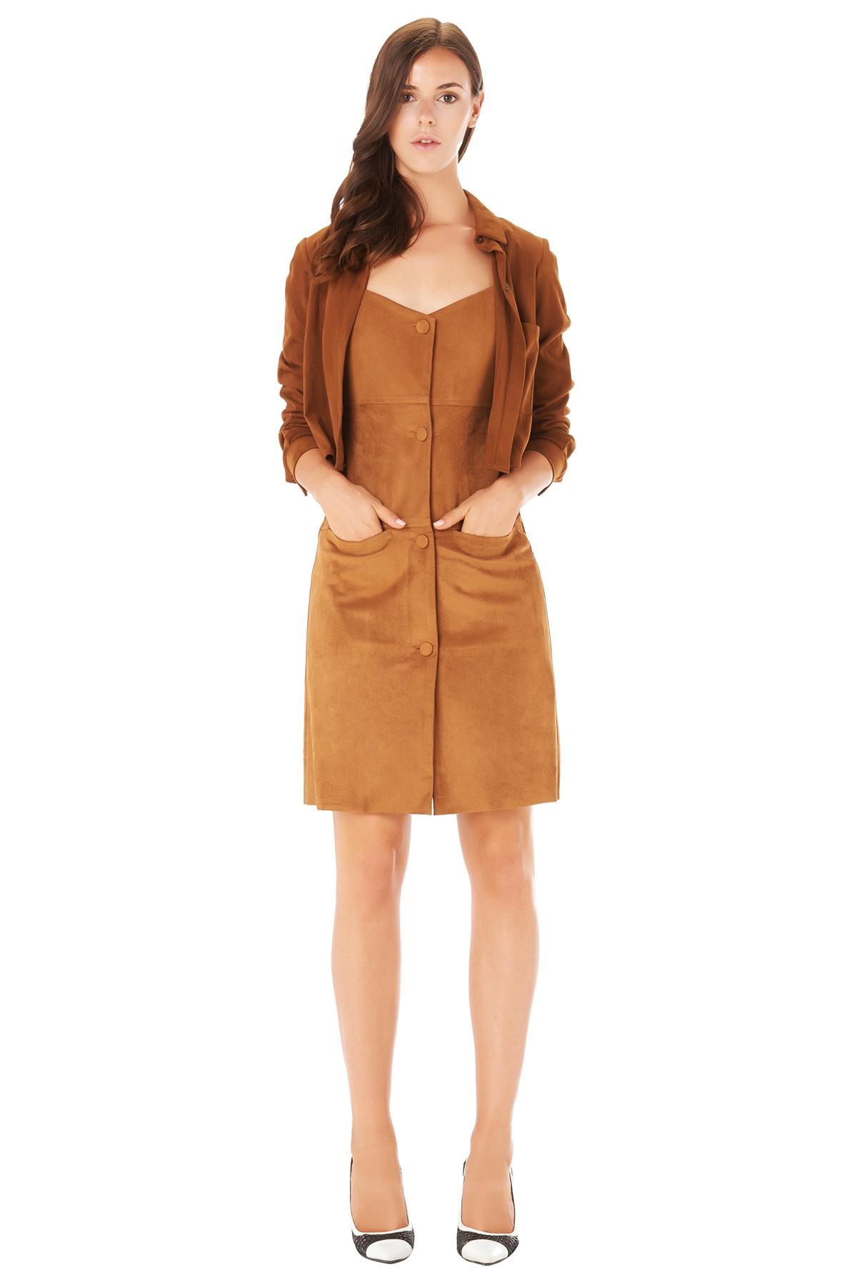 LOW CLASSIC, dress, mini dress, brown dress, short dress, vacation outfit, designer dress, outfit, fashion, designer clothes, designer brands, ชุดแบรนด์เนม, เช่าชุด, เดรส, เดรสสั้น, ชุดไปทะเล, ชุดไปเที่ยว